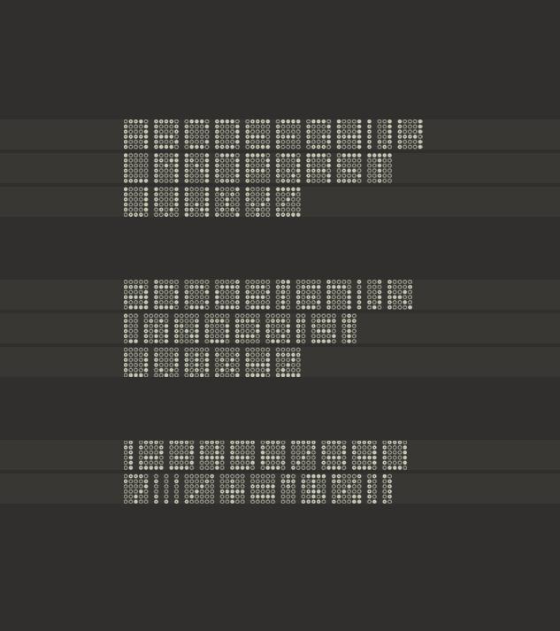 Font - BOND IS DEAD
