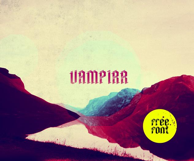 Vampirr Font Download